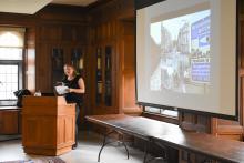 Olivia Mena, LALS, 2019, Linderman, lecture, library